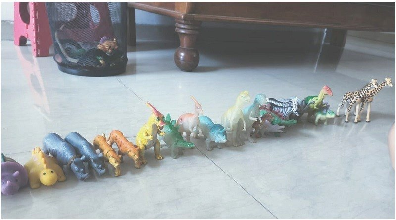 animal toys small sized