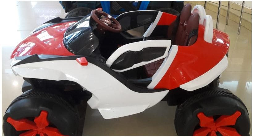 electric ride-on car with 2-seats