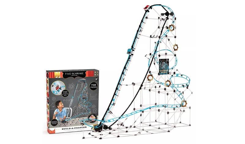 FAO Schwarz Roller Coaster Build Set