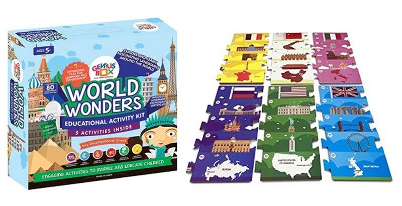 Genius Box World Wonders Toddler kit