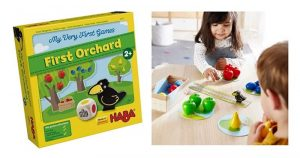 HABA My Very First Games - First Orchard Cooperative Board Game for 2 Year Olds
