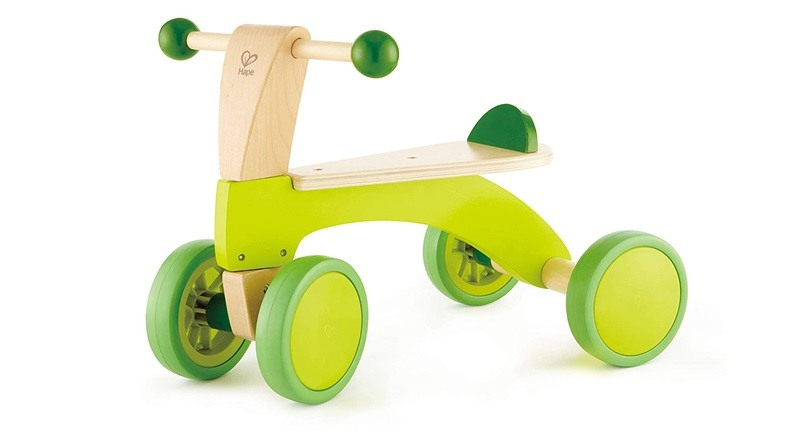 Hape Scoot around ride-on wood bike