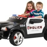 Best Police Ride-On Cars (Electric and Manual) for Kids
