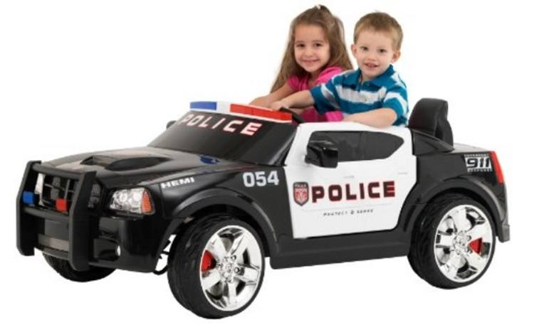 kid trax dodge charger police car