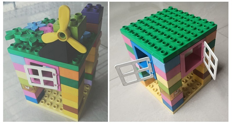 Lego toys at home