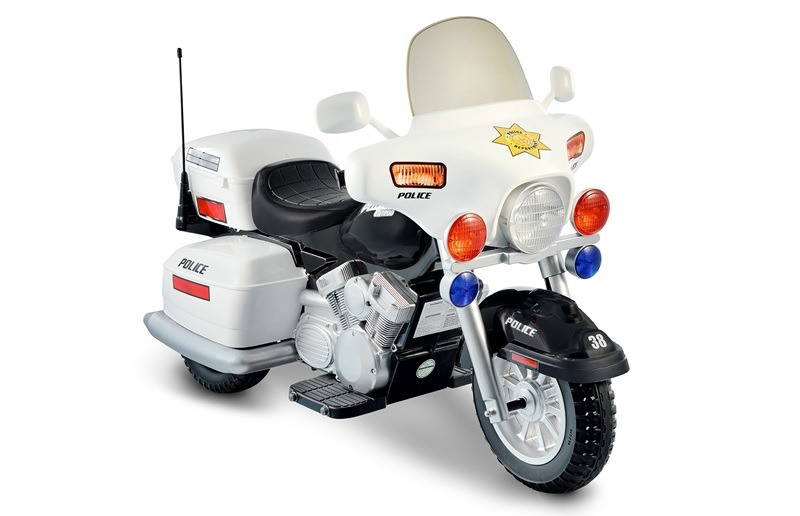 National Products 12V Police Motorcycle for Kids