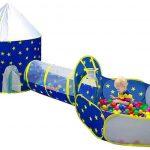 Pigpigpen 3-piece kids play tent