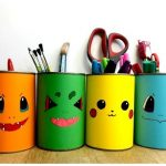 DIY Pokemon Pencil Holder: How to make one