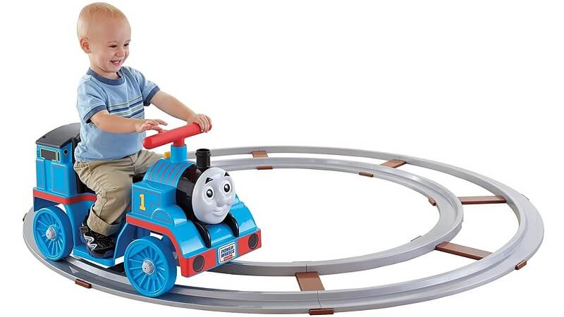 Power Wheels Thomas and Friends ride-on train with Track