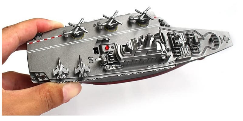 RC ship aircraft carrier Tipmant