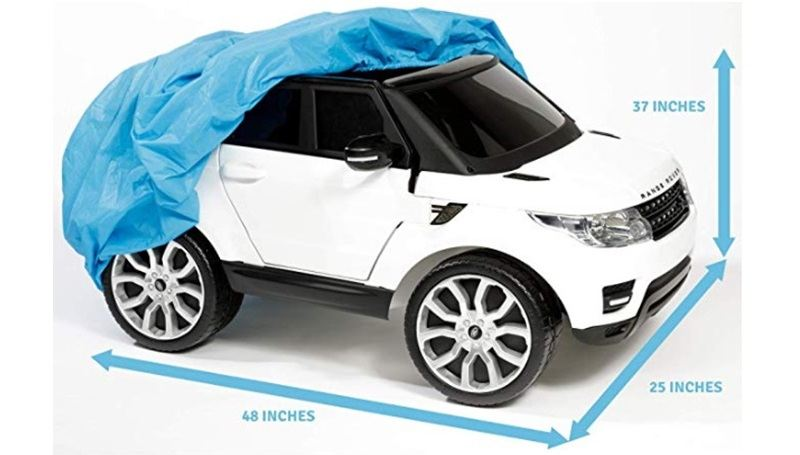 Ride-on car covers