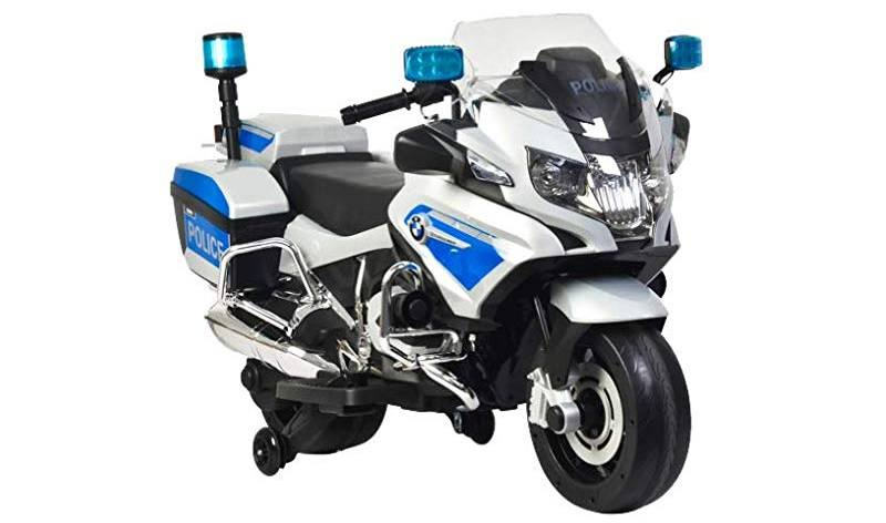 Rosso Motors Kids Police ride-on Motorcycle