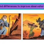Spot the differences: Activity that makes your child concentrate