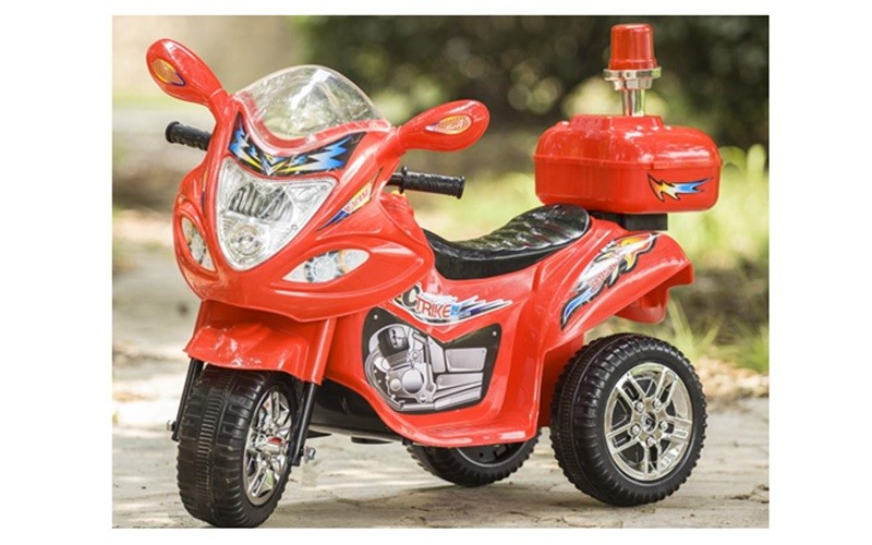 Tamco Police Motorcycle Ride On Toy