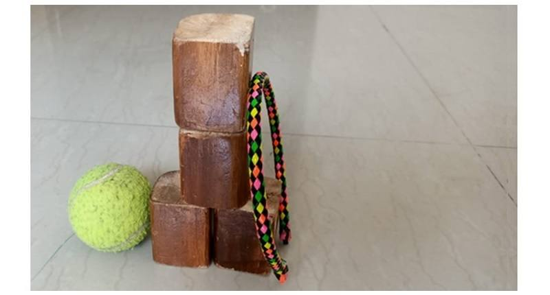 wooden blocks - toys made at home